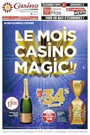 Catalogue Casino Supermarchés en cours, Le mois Casino magic !!, Page 1