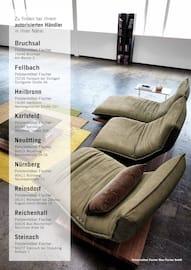 Aktueller Polstermöbel Fischer Prospekt, Aussergewöhnliche Sofakreationen , Seite 30