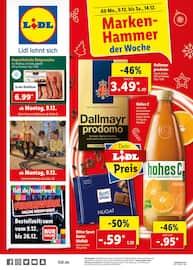 Aktueller Lidl Prospekt, Marken-Hammer der Woche, Seite 1