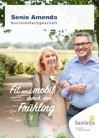 Aktueller Senio Hamm Seniorenfachgeschäft Amenda e. Kfr. Prospekt, Fit und mobil durch den Frühling, Seite 1