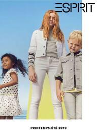 Catalogue Esprit en cours, Collection Enfant Printemps - Eté 2019, Page 1