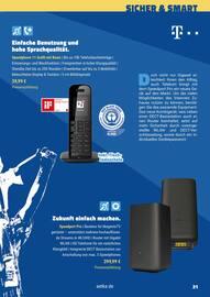 Aktueller aetka Prospekt, Mobil. Sicher. Smart. Das generationenübergreifende Technikmagazin., Seite 21