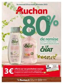 """Auchan Catalogue """"Auchan"""", 52 pages, Saint-Brice-sous-Forêt,  19/10/2021 - 26/10/2021"""