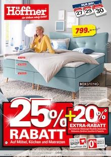 Höffner, 25% RABATT für Schwetzingen