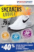 Catalogue Intersport en cours, Sneakers addict, Page 1