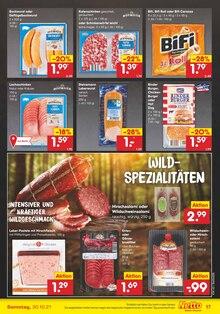 Wurst im Netto Marken-Discount Prospekt DER ORT, AN DEM DU SEKT IN BIO-QUALITÄT BEKOMMST. auf S. 16