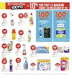 Catalogue Géant Casino en cours, Big promos de l'été, Page 27