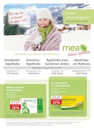 mea - meine apotheke, Unsere Januar-Angebote für Berlin