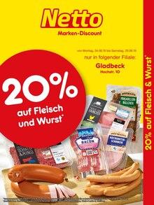 Netto Marken-Discount - 20% auf Fleisch & Wurst