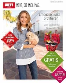 Aktueller Witt Weiden Prospekt, Katalog Herst Winter 2019, Seite 1