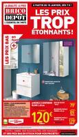 Catalogue Brico Dépôt en cours, Les prix trop étonnants !, Page 1
