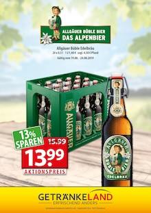Getränkeland, BÜBLE EDELBRÄU für Stralsund1