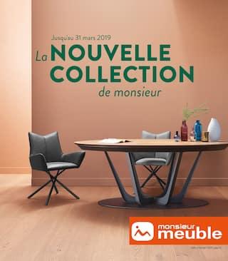 Catalogue Monsieur Meuble en cours, La nouvelle collection de monsieur, Page 1