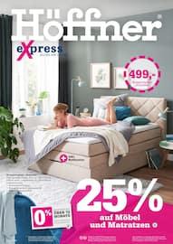 Aktueller Höffner Prospekt, eXpress, Seite 1