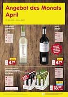 Aktueller Netto Marken-Discount Prospekt, Angebot des Monats April, Seite 1