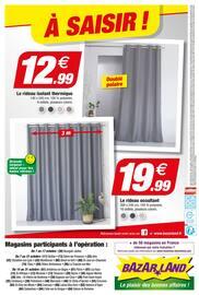 Catalogue Bazarland en cours, Déjà l'Automne, Page 12