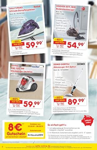 Aktueller Netto Marken-Discount Prospekt, Exklusiv online, Seite 2