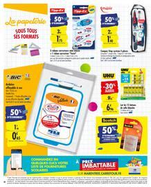 Catalogue Carrefour en cours, La rentrée encore moins chère, Page 44