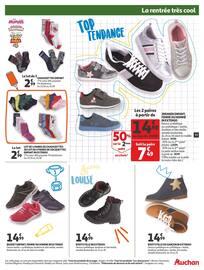 Catalogue Auchan en cours, La rentrée très cool, Page 17