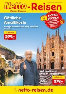 Netto Reisen Prospekt Reisen zum Discountpreis