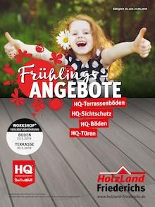 HolzLand Friederichs, FRÜHLINGSANGEBOTE HOLZLAND FRIEDERICHS für Düsseldorf1