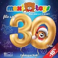 Catalogue Maxitoys en cours, Maxitoys fête ses 30 ans, Page 1