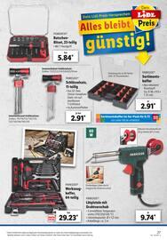 Aktueller Lidl Prospekt, Mega Auswahl! Beste Preise!, Seite 27