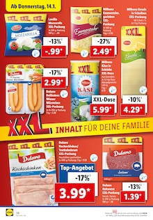Lebensmittel im Lidl Prospekt Deine XXL Hammer-Angebote auf S. 33