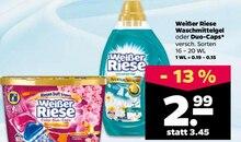 Waschmittel von Weißer Riese im aktuellen NETTO mit dem Scottie Prospekt für 2.99€