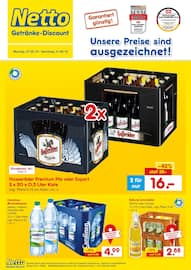 Aktueller Netto Getränke-Markt Prospekt, Unsere Preise sind ausgezeichnet!, Seite 1