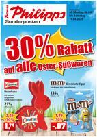 Aktueller Thomas Philipps Prospekt, 30% Rabatt auf alle Oster - Süßwaren!, Seite 1