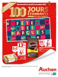 Catalogue Auchan en cours, Fête des marques, Page 1