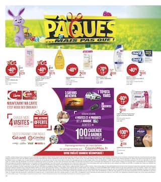 Catalogue Géant Casino en cours, Pâques … mais pas que !, Page 16
