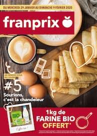 Catalogue Franprix en cours, Sourions, c'est la chandeleur, Page 1