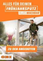 Aktueller OBI Prospekt, ALLES FÜR DEINEN FRÜHJAHRSPUTZ - ALLES MACHBAR, Seite 1