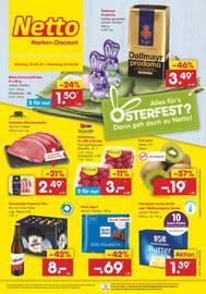 Aktueller Netto Marken-Discount Prospekt, GARANTIERT NIRGENDWO GÜNSTIGER, Seite 1