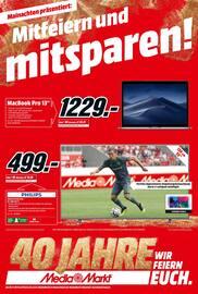 Aktueller Media-Markt Prospekt, Mitfeiern und mitsparen!, Seite 1