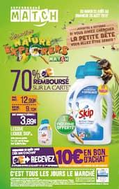 Catalogue Supermarchés Match en cours, 70% remboursé sur la carte, Page 1
