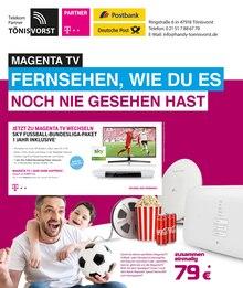 Telekom Partner Tönisvorst, MAGENTA TV - FERNSEHEN, WIE DU ES NOCH NIE GESEHEN HAST für Duisburg1