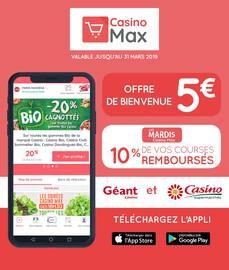 Catalogue Géant Casino en cours, Casino Max, Page 1