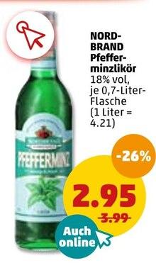 Alkoholische Getraenke von NORDBRAND im aktuellen Penny-Markt Prospekt für 2.95€