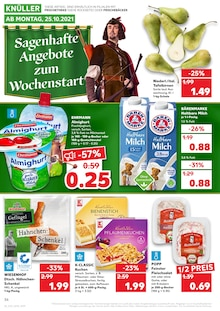 Kaufland Prospekt für Gaißach, Oberbay: KNÜLLER, 42 Seiten, 24.10.2021 - 27.10.2021