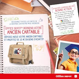 Catalogue Office DEPOT en cours, Les agendas ! Office Dépôt, l'expert de la rentrée ! Et profitez du service de préparation de liste scolaire en magasin gratuitement., Page 3