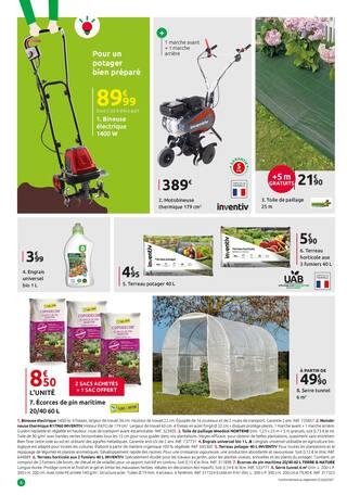 Catalogue Mr Bricolage en cours, Pour votre coupe de printemps c'est sans rendez-vous., Page 6