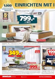 Aktueller Segmüller Prospekt, Segmüller - Sicherheit beim Möbelkauf, Seite 8