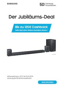 Samsung Prospekt Der Jubiläums-Deal - Bis zu 125€ Cashback