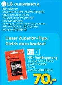 Multimedia von HD+ im aktuellen EURONICS Prospekt für 70€