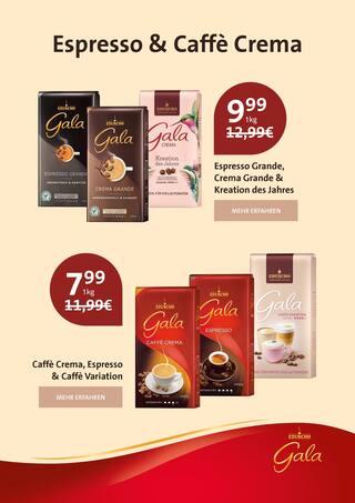 Getraenke im Gala Eduscho Prospekt Nur für kurze Zeit: Alle Gala von Eduscho Kaffeesorten jetzt zum Aktionspreis! auf S. 1
