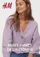 Catalogue H&M en cours, Must-haves de l'automne, Page 1