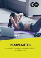 Catalogue Go Sport en cours, Nouveautés : la sélection produits GO Sport au meilleur prix !, Page 1